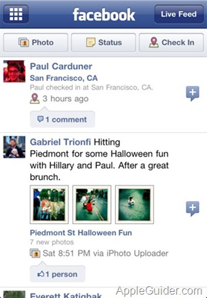 FaceBook for iPhone_2
