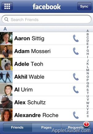 FaceBook for iPhone_3