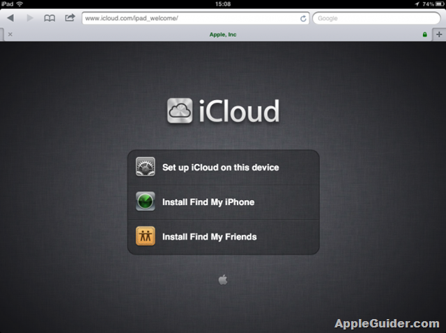 find-my-friends-icloud-welcome-page