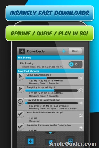 meteoric-download-manager