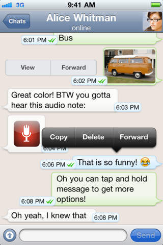 WhatsApp Messenger 2.6.10