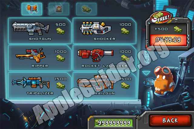 Monster Shooter: The Lost Levels cheats