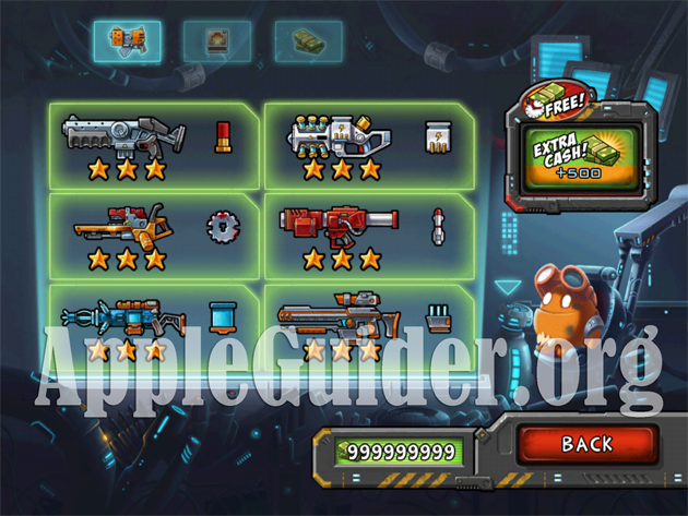 Monster Shooter: The Lost Levels hack cash,weapons