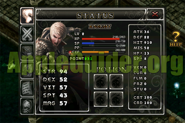Legend of Master 3 cheats double exp. unlimited status point,unlimited gold