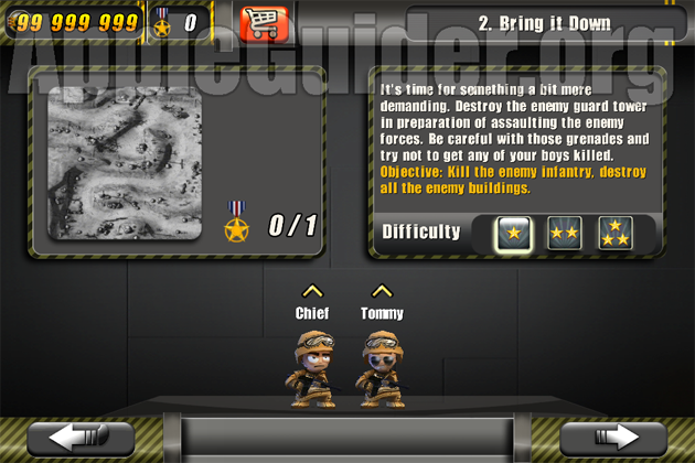 Tiny Troopers hack unlimited command point