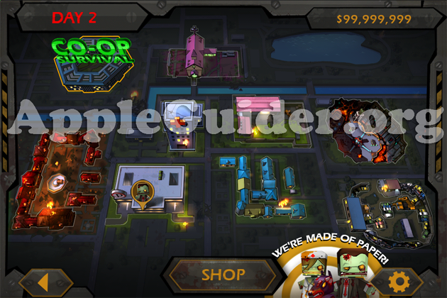 Call of Mini: Zombies hack bullets