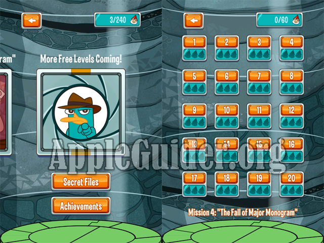 Where's My Perry? hack all levels unlocked