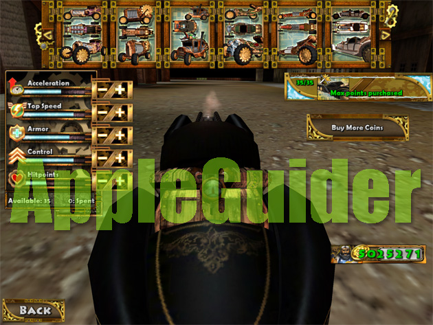 Steampunk Racing 3D hack coins and no ad