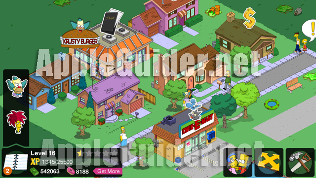 The Simpsons Tapped Out 4.1.3 hack money and donuts