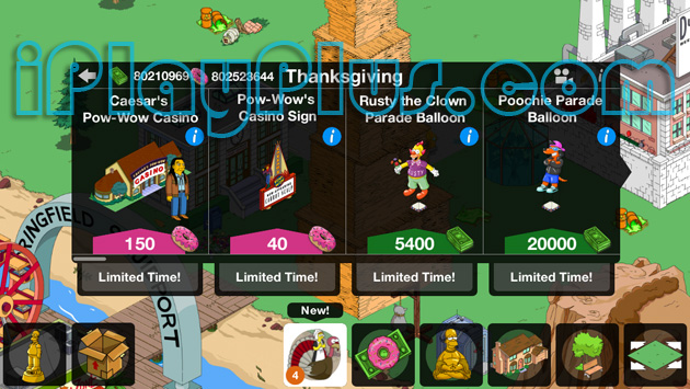 The Simpsons Tapped Out 4.5.3 cheat